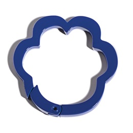 Blue Paw Carabiner