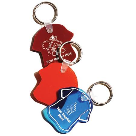 Bendy T Shirt Key Chain