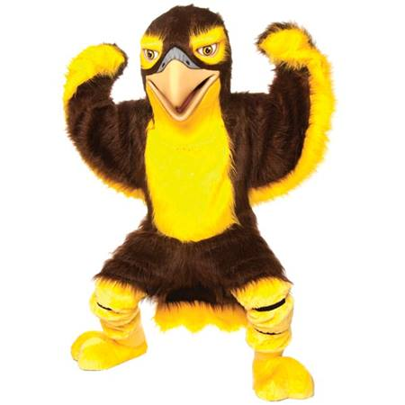 Friendly Falcon Mascot Costume