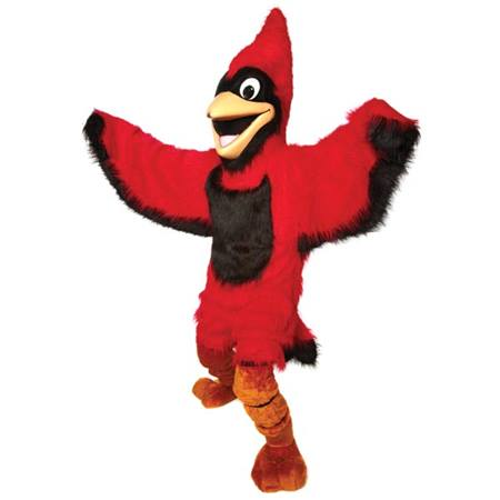 Friendly Cardinal Mascot Costume