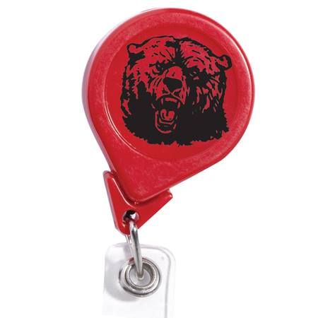 Round Badge Reel - Solid Color