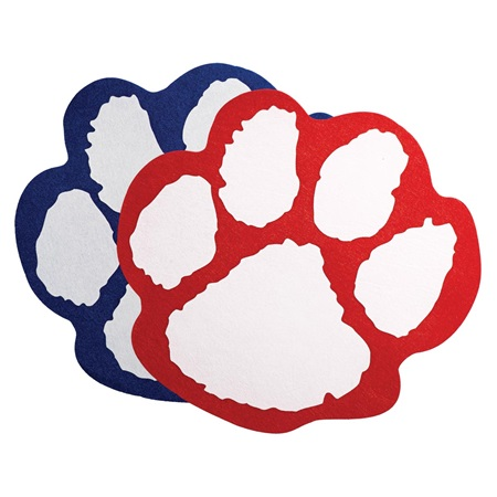 Paw-shaped Pennant