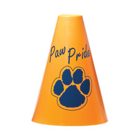 Paw Pride Megaphone - Yellow/Blue