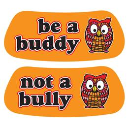 Anti-Bully Eye Black - Be a Buddy Owl