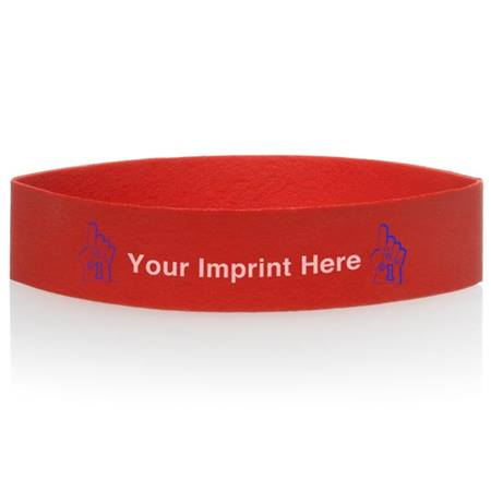 Custom Two-color Rubber Wristband