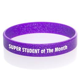 Glitter Wristband - Purple