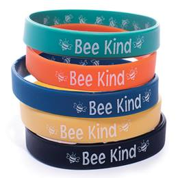 Two-way Wristband Assortment - Bee Kind