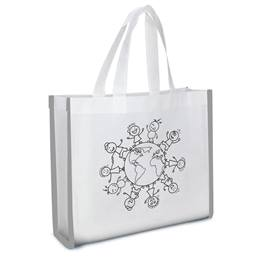 Reflective Color-your-own Tote Bag