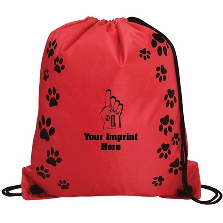 Paw Prints Backpack