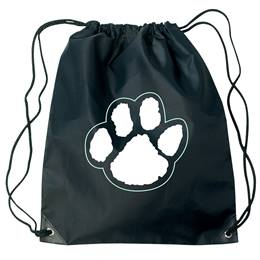Paw Backpack - Black/White