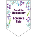 Science Custom Pennant Banner