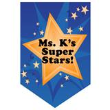 Gold Star Custom Pennant Banner