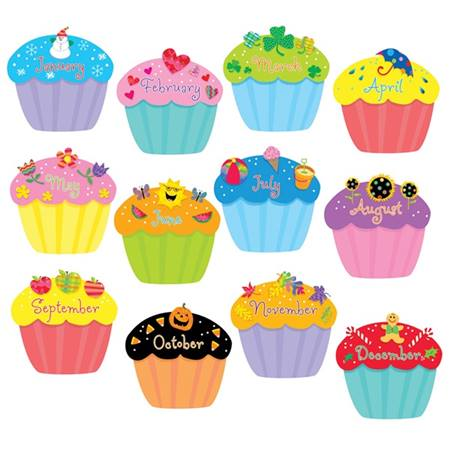 Jumbo Cupcakes Cut Outs Set