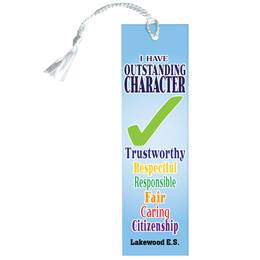 Custom Bookmark - Outstanding Character
