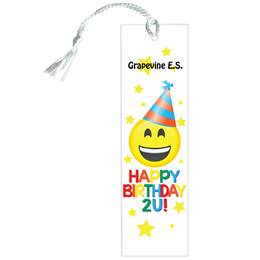 Custom Bookmark - Happy Birthday 2U