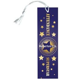 Custom Bookmark - Attendance Superstar