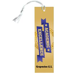 Custom Bookmark - Academic Excellence/Laurel Wreath