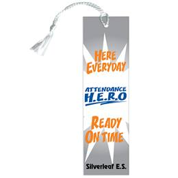 Custom Bookmark - Attendance H.E.R.O.
