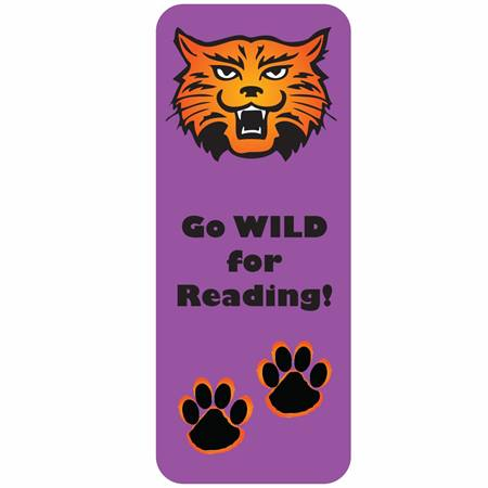 Animal Bookmark - Wildcat