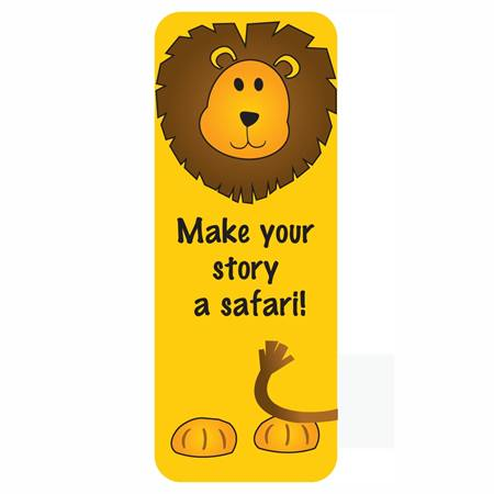 Animal Bookmark - Lion