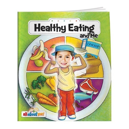 All About Me Book - Healthy Eating