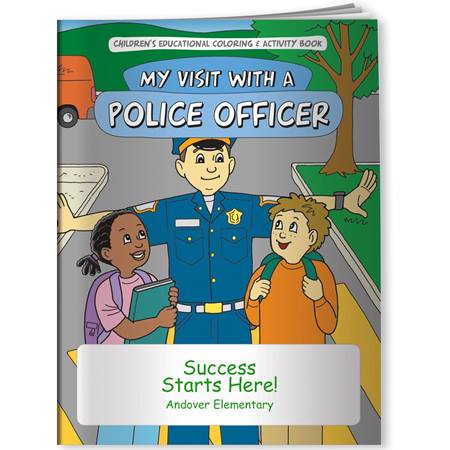 Coloring Book - My Visit With a Police Officer