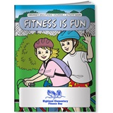 Coloring Book - Fitness is Fun