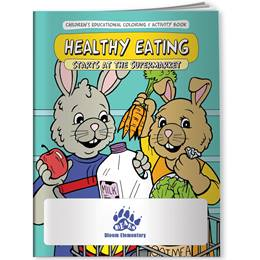 Coloring Book - Healthy Eating Starts at the Supermarket