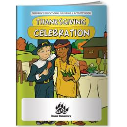 Coloring Book - Thanksgiving Celebration