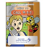 Coloring Book - When to Call 911