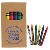 Custom Six-piece Crayon Set