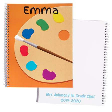 Personalized Notebook - Painting