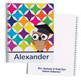 Personalized Notebook - Graduation Owl