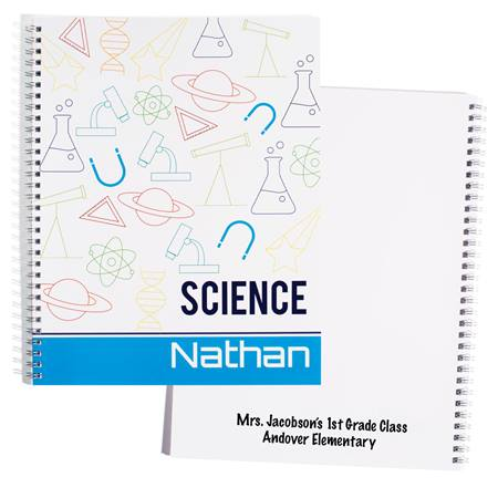 Personalized Notebook - Science