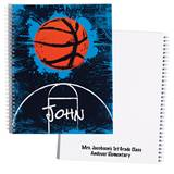 Personalized Notebook - Basketball