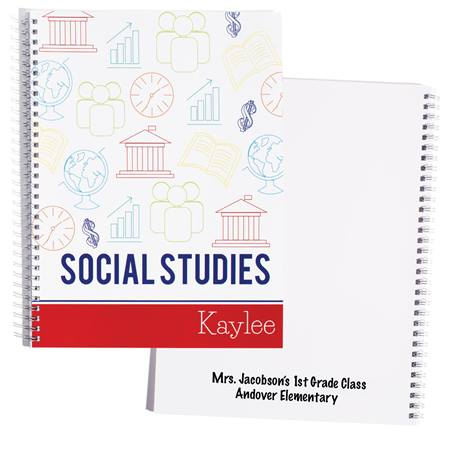 Personalized Notebook - Social Studies