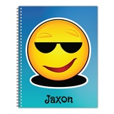 Personalized Emoji Notebook - Cool Dude