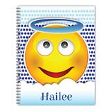 Personalized Emoji Notebook - Halo