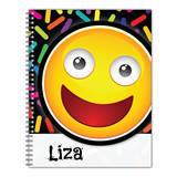 Personalized Emoji Notebook - Happy Surprise