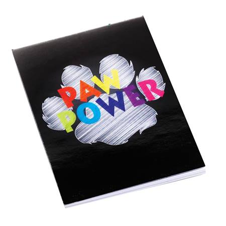 Mini Memo Book - Chalk Paw Power
