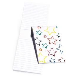 Mini Memo Book - Crayon and Stars