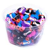 Pencil Top Erasers - Penguins, 108/pkg