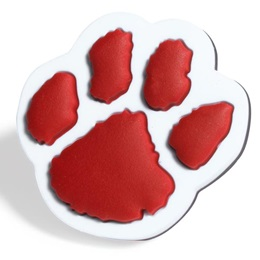 Red Paw Pencil Topper