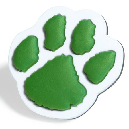Green Paw Pencil Topper
