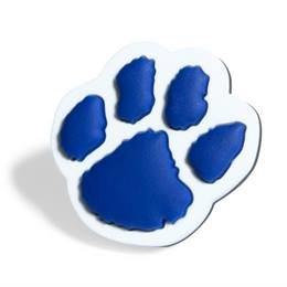 Blue Paw Pencil Topper