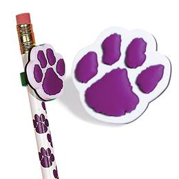 Pencil Topper - Purple Paw