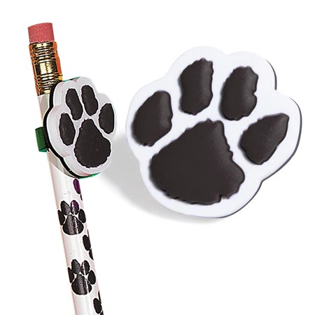 Pencil Topper - Black Paw