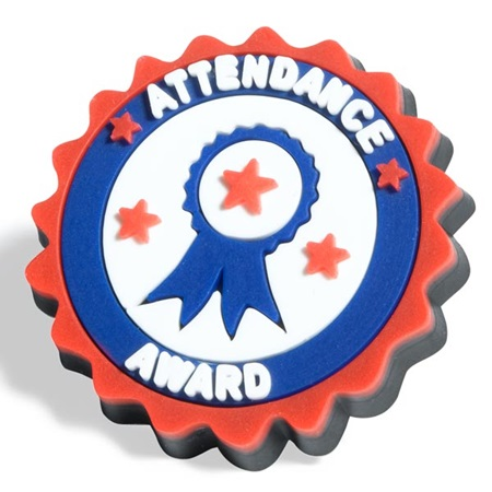Attendance Award Pencil Topper