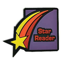 Star Reader Pencil Topper