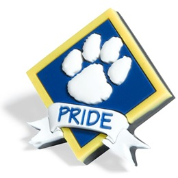 Paw Pride Pencil Topper